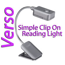 LIGHTWEDGE VERSO CLIP ON LED READING LIGHT KINDLE SONY EREADER WITH BATTERY