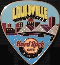 Hard Rock Cafe LOUISVILLE 2012 POSTCARD Series Guitar Pick PIN LE 300 HRC #68129