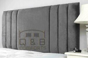 Plush velvet sole headboard  3ft 4ft 4ft6 5ft