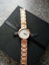 Unbranded ladies fashion watch rose gold finish