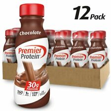 Premier Protein Shakes Chocolate Low Carb, Zero Sugar, Keto Diet, 11Oz 12 Count