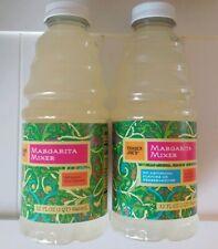2 Pack Trader Joe's MARGARITA MIXER Mix  32 oz ea Lemon Lime Seasonal Limited