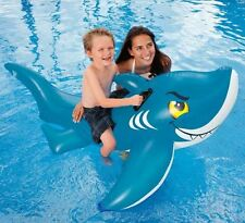 INTEX INFLATABLE KIDS SCARY SHARK CHILDRENS SWIMMING POOL TOYS