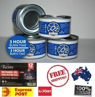 "Quality Chafing Fuel 3 Hour Methanol Gel ""Easy Heaters"" Bain Maries Warm"