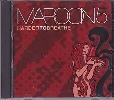 Maroon 5-Harder To Breathe cd maxi single