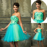 2017 Mini Evening Party Prom Ball Gown Bridesmaids Dress Short Cocktail Dresses