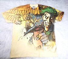 Vintage DC Comics Original T Shirt Size XL Rare Joker Hahaha Yellow