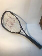 "Wilson Kannon Advanced Power Design Graphite PWS Tennis Racquet - 4 3/8"""