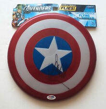 PSA/DNA Captain America SCARLETT JOHANSSON Signed Autographed Shield BLACK WIDOW