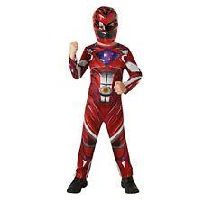 Power Rangers Garçons Red Ranger Costume de Déguisement 7 - 8 ans