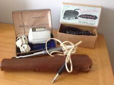 vintage electrical items all in original boxes