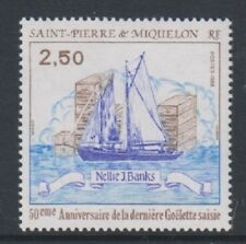 St Pierre & Miquelon - 1988, 2f50 Ann of End of Prohibition stamp - MNH - SG 604