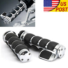 "1"" Handle Bar Hand Grips For Kawasaki VN Vulcan Classic Drifter 800 900 1500"