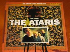 THE ATARI'S - Tour Sampler - 2 Track Promo CD! RARE! OOP! so long, astoria