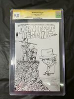 Manifest Destiny 1 Long beach Sketch variant CGC SS 9.8