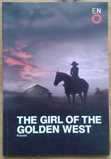 The Girl of the Golden West programme English National Opera (ENO) 2014