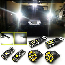 LED License Plate Backup Reverse High Mount Light Kit For Toyota Tundra 2014-20
