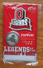 Ohio State Eddie George Medallion Legends of the Scarlet and Gray