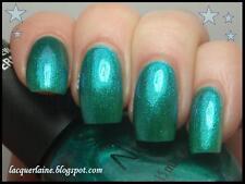 "Nicole by Opi ""Iceberg Lotus"" duochrome glitter 3/5 full Rare Vhtf nail polish"