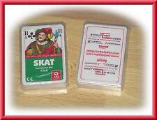 Schlüter Turbolader Kartenspiel Skat 2 Packungen Neu und unbenutzt