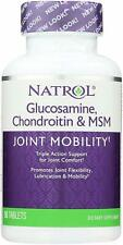 Natrol Glucosamine Chondroitin & MSM-JOINT MOBILITY 90 Tablets EXP 4/31/21