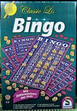 Schmidt Spiele 49089 - Classic Line: Bingo (Zahlen-Chips aus Holz) - NEU und OVP