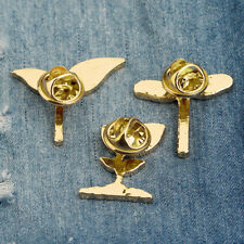 Dripping Oil Pin Plant Leaf Bean Sprout Brooch Needle Clothes Ornaments Badge D
