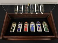 FRANKLIN MINT Universal Studios Monster Movie Knife Set in Box Mint Rare Dracula