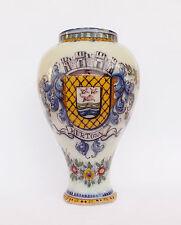 Antique Vintage Portuguese Battistini Faience Jar (9.8'')