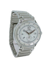Davidoff Very Zino 10004 Men's Oval Automatic Date Stainless Steel Watch