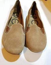 Sporto Demi Taupe Suede Slip on Loafer Flats 8.5 M