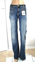 Jeans Donna Pantaloni VIOLET ATOS LOMBARDINI Made in Italy H167 Blu Tg 26