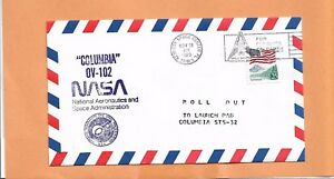 SHUTTLE COLUMBIA STS-32 ROLL-OUT NOV 28,1989 KSC AIR MAIL