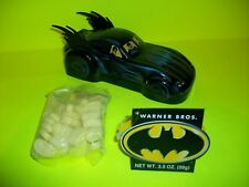 Vtg Rare BATMAN & ROBIN Tin BATMOBILE Candy Car Cartoon Network DC Comic Books