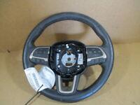 2015 Jeep Renegade Black Leather Steering Wheel OEM LKQ