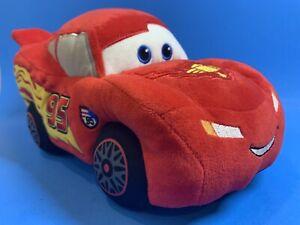 "Gund Disney Pixar Cars Red Lightning McQueen #95 12"" Plush Stuffed Pillow Toy"