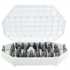 JEM 55 Set Large Stainless Steel Icing Nozzle Tip Tube for Cake Decorating