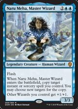 4x NM-Mint, English Regular Naru Meha, Master Wizard Dominaria magicmtg