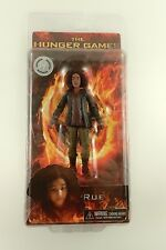 NIB The Hunger Games RUE Disctrict 11 Figure 2012 NECA Toy RARE doll FREE GIFT!!