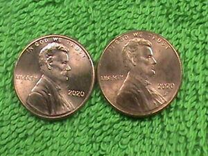 UNITED  STATES   1 Cent   1920  ( P )  &  D   UNC   *