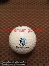 LOGO GOLF BALL-SPORTVISION....PRODUCT FOR SPORTS ENTERTAINMENT TV..PROV1 BALL...