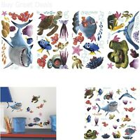Roommates Decals Peel Stick Wall Sticker Decor Fish Kids New