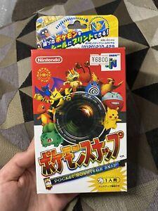 Pokemon Snap Japan Version Nintendo 64 Factory Sealed Slightly Dented Box Rare!