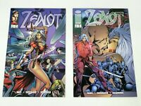 Zealot Issues 1 and 2 Excellent Condition Image Comics Wildcats