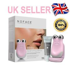 Pink Nuface Trinity Facial Toning Device Full Size New Home Face Lift Anti Age
