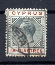 More details for cyprus kgv 1912-15 18pi fine cds used sg#83 ws15648