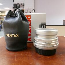 Used Pentax SMC FA 43mm f1.9 Limited lens in Silver - 1 YEAR GTEE