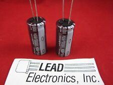 QTY2..1000UF 80V  Radial 105-deg Very Low-ESR  Capacitor Nichicon UPM1K102MHD