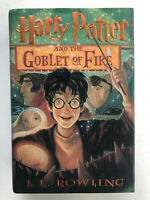 J.K. Rowling Harry Potter and the Goblet of Fire First Edition Mint HCDJ