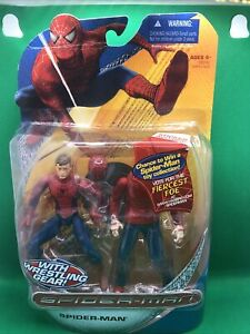 Spider-man with Wrestling Gear - 2007-Action Figure Hasbro - Free Shipping